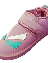 Недорогие -Для женщин Обувь Резина Зима Зимние сапоги Ботинки Круглый носок Назначение Черный Лиловый Синий Розовый
