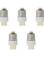 5Pcs E27 to G9 Quick Bulb Converter Bulb Accessory