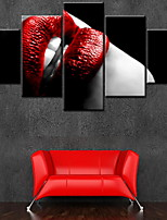 Canvas Print Classic,Five Panels Canvas Vertical Panoramic Print Wall Decor For Home Decoration