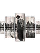 Canvas Print Modern,Five Panels Canvas Vertical Panoramic Print Wall Decor For Home Decoration