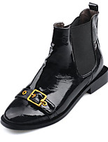 Недорогие -Для женщин Обувь Полиуретан Весна Осень Удобная обувь Ботинки Назначение Черный
