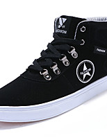 cheap -Men's Shoes PU Spring Fall Comfort Sneakers For Outdoor Blue Coffee Black