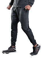 Men's Running Pants Trainer Fitness Pants / Trousers for Running/Jogging Exercise & Fitness Fitness Polyster Black Grey Royal Blue S M L