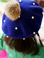 cheap -Girls' Hats & Caps,Winter Spring/Fall Wool Royal Blue Khaki
