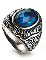 Men's Statement Rings Casual Fashion Hiphop Statement Jewelry Cool Stainless Steel Jewelry Jewelry For Casual Work