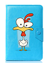 cheap -Universal Cartoon Rooster PU Leather Stand Cover Case For 7 Inch 8 Inch 9 Inch 10 Inch Tablet PC