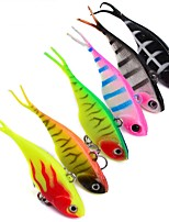 6 pcs Fishing Lures Fishing Tools Metal Bait Hard Bait g/Ounce,68mm mm/2-11/16