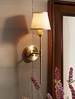 Ambient Light Wall Sconces 7W AC220V E14 Rustic/Lodge Country For