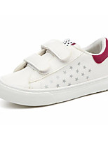 Boys' Shoes PU Spring Fall Comfort Sneakers For Casual Black/White Pink/White Green Fuchsia