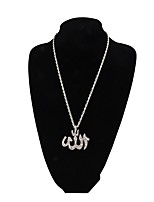 Women's Pendant Necklaces Cross Alloy Elegant Jewelry For Casual