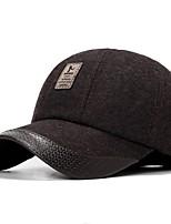 Men's Cotton Ski Hat,Casual Patchwork All Seasons Stylish