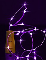 cheap -BRELONG 2M 20 LED Wine Bottle Copper String Lights For Christmas Wedding Party  Decorations