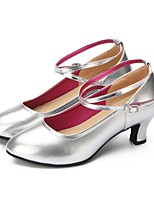"cheap -Women's Modern Faux Leather Sneaker Outdoor / Customized Heel Silver 2"" - 2 3/4"" Customizable"