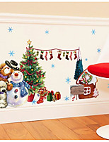 Christmas Wall Stickers Decals Decorative Wall Stickers,Water proof material Material Home Decoration Wall Decal