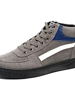 cheap -Men's Shoes PU Spring Fall Comfort Sneakers For Casual Gray Black