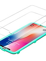 Screen Protector for Apple iPhone X Tempered Glass 2 pcs Front Screen Protector High Definition (HD) 9H Hardness 2.5D Curved edge Ultra