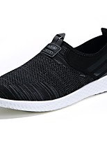 Men's Shoes Tulle Summer Comfort Loafers & Slip-Ons For Casual Blue Light Grey Black