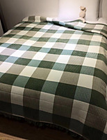 cheap -Super Soft,Yarn Dyed Nature Poly/Cotton Blankets