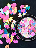 cheap -Diamond Colorful Sequins Shell Colorful Nail Art Decoration