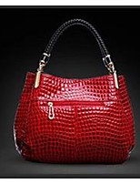 cheap -Women Bags PU Tote Zipper for Casual All Season Black Red Dark Blue