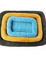 Cat Dog Bed Pet Mats & Pads Solid Foldable Soft Washable Random Color For Pets