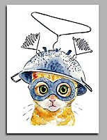 Communication Cat odern Artwork Wall Art for Room Decoration