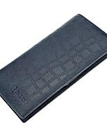 Men Bags Cowhide Wallet Pattern / Print for Shopping Casual All Season Dark Blue