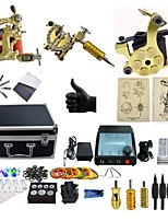 cheap -BaseKey Tattoo Machine Professional Tattoo Kit, 3 pcs Tattoo Machines - 3 alloy machine liner & shader Professional
