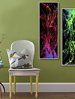 preiswerte -Abstrakt Fantasie Darstellung Wandkunst,PVC Stoff Mit Feld For Haus Dekoration Rand Kunst Wohnzimmer Küche Esszimmer Schlafzimmer Büro