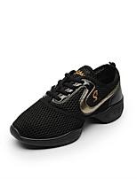 economico -Da donna Sneakers da danza moderna Tulle Sneaker All'aperto A fantasia Piatto Rosa/nero Nero e Oro Personalizzabile