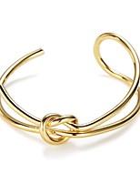 Femme Manchettes Bracelets Européen Mode Alliage Bijoux Pour Quotidien Rendez-vous