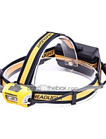 cheap -U'King Headlamps LED 2400 lm 1 Mode Cree XM-L L2 Portable Durable Camping/Hiking/Caving Everyday Use Cycling/Bike Hunting Fishing