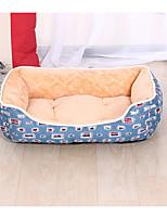 Dog Beds Pet Mats & Pads Plaid/Check Blue For Pets