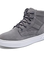 cheap -Men's Shoes PU Spring Fall Comfort Sneakers For Casual Yellow Gray Black