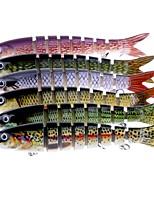 1 pc Esche rigide g/Oncia mm pollice Pesca di mare Pesca a mosca Pesca a mulinello Pesca a jigging Pesca con esca Pesca dilettantistica