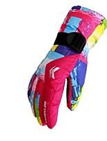 cheap -Winter Gloves Ski Gloves Men's Women's Full-finger Gloves Skin Keep Warm Windproof Moisture Permeability Breathable Skiing Water proof