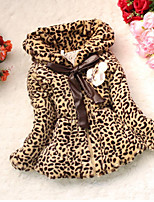 cheap -Girls' Leopard Down & Cotton Padded,Cotton Long Sleeves Khaki