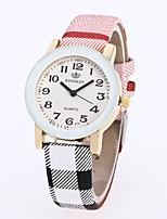 Women's Dress Watch Wrist watch Chinese Quartz PU Band Vintage Casual Black White Blue Red Pink Khaki
