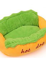cheap -Cat Dog Beds Pet Mats & Pads Color Block For Pets