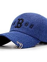 Унисекс На каждый день Бейсболка,Все сезоны Корд Цветочный Стильные Рисунок