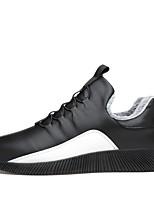 economico -Da uomo Scarpe Finta pelle Inverno Autunno Comoda Sneakers Per Casual Bianco Nero