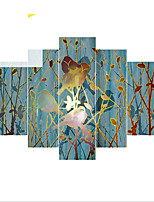 Canvas Set Classic,Five Panels Canvas Vertical Panoramic Print Wall Decor For Home Decoration