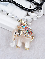 Women's Pendant Necklaces Alloy Pendant Necklaces , Animals Fashion European Gift Daily