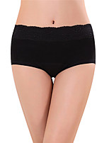 cheap -Women's Solid Seamless Panties Cotton