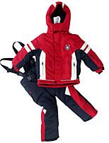 Phibee Per bambini Giacca e pantaloni da sci Caldo Ompermeabile Antivento Indossabile Sci Poliestere