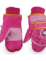Недорогие -Лыжные рукавицы Детские Рукавицы Сохраняет тепло Пригодно для носки Дышащий Водонепроницаемый материал Катание на лыжах Пешеходный туризм