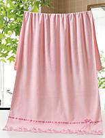 Style frais Serviette de bain,3D (modèle aléatoire) Qualité supérieure Polyester/Coton Serviette