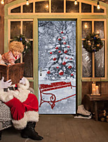 Christmas Wall Stickers Plane Wall Stickers Decorative Wall Stickers,Wooden Material Home Decoration Wall Decal