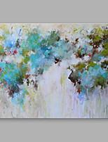 Peint à la main Abstrait Format Horizontal,Moderne Un Panneau Toile Peinture à l'huile Hang-peint For Décoration d'intérieur