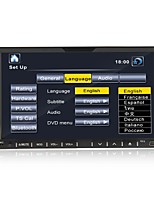 7-inch 2 din tft schermo in-dash auto dvd player con usb-ipodbluetoothrdstv
